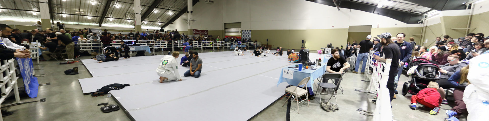 The Northwest Open 2018 before competition