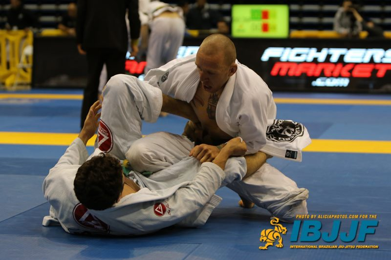 James competing in a Jiu Jitsu Tournament