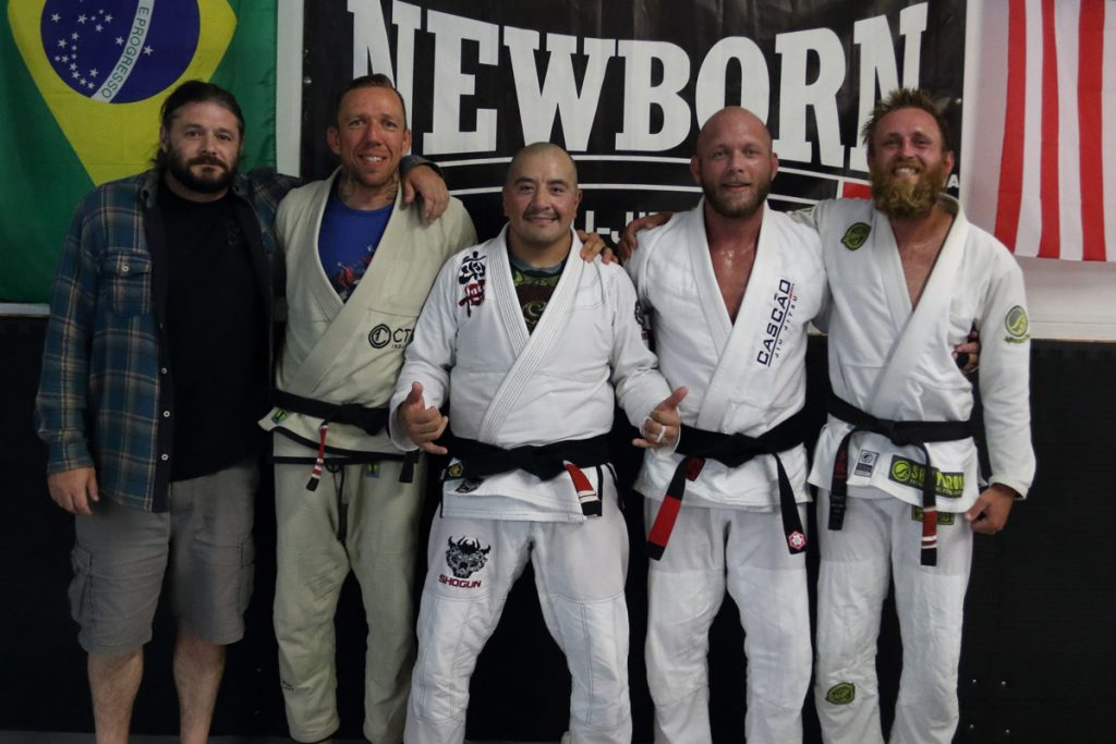 Newborn Jiu Jitsu black belts